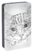 Chat Somnolant Resting Cat Portable Battery Charger