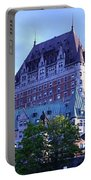 Chateau Frontenac, Montreal Portable Battery Charger
