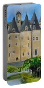 Chateau Jumilhac, France Portable Battery Charger