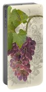 Chateau Pinot Noir Vineyards - Vintage Style Portable Battery Charger