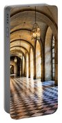 Chateau Versailles Interior Hallway Architecture  Portable Battery Charger