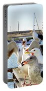 Chatty Seagull Birds Portable Battery Charger