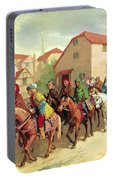 Chaucer's Pilgrims Portable Battery Charger
