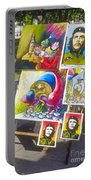 Che Guevara And Other Artwork Portable Battery Charger