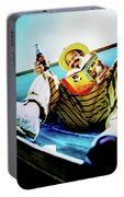 Cheech Marin In Boat Portable Battery Charger