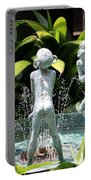 Cheekwood Fountain Portable Battery Charger