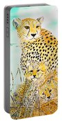 Cheetah Family Portable Battery Charger