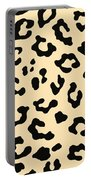 Cheetah Fur Portable Battery Charger