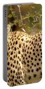 Cheetah Portrait Portable Battery Charger