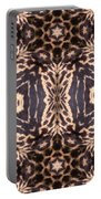 Cheetah Print Portable Battery Charger