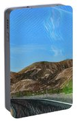 Chem Trails Valley Of Fire  Portable Battery Charger