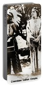 Cherokee Indian Couple Portable Battery Charger