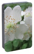 Cherokee Rose At The Farm Portable Battery Charger