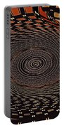 Cherry Basket Weaving Abstract Portable Battery Charger