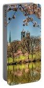 Cherry Blossom Branch Brook Park, Newark, Nj  Portable Battery Charger