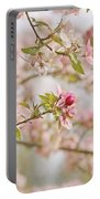 Cherry Blossom Delight Portable Battery Charger by Kim Hojnacki