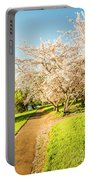 Cherry Blossom Lane Portable Battery Charger