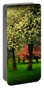 Cherry Blossom Trees Portable Battery Charger