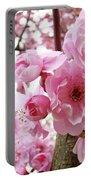 Cherry Blossoms Art Prints 12 Cherry Tree Blossoms Artwork Nature Art Spring Portable Battery Charger