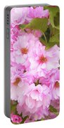 Cherry Blossoms I  Portable Battery Charger