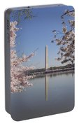 Cherry Blossoms Monument Portable Battery Charger