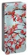 Cherry Blossoms V 201631 Portable Battery Charger