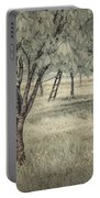 Cherry Orchard In Infrared Portable Battery Charger