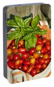 Cherry Tomato Harvest Portable Battery Charger