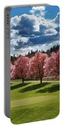 Cherry Tree Bloom Color Portable Battery Charger