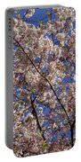 Cherry Tree In Bloom Portable Battery Charger