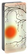 Cherry Tree In Fall Portable Battery Charger