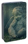 Cherub Lost In Thoughts Portable Battery Charger