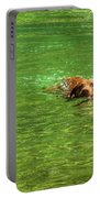 Chesapeake Bay Retriever Swimming Portable Battery Charger