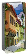 Chesky Krumlov Street Nove Mesto Portable Battery Charger