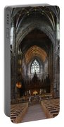Chester Cathedral England Uk Inside The Nave Portable Battery Charger