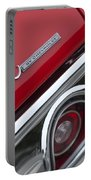 Chevrolet Chevelle Ss Taillight Emblem 2 Portable Battery Charger