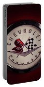 Chevrolet Corvette, Corvette Logo Portable Battery Charger