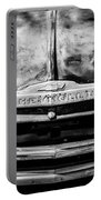 Chevrolet Truck Grille Emblem -0839bw1 Portable Battery Charger