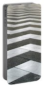 Chevron  Portable Battery Charger by Linda Woods