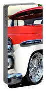 Chevy Apache Custom Hot Rod Truck Portable Battery Charger