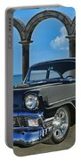 Chevy Belair In Mexico Portable Battery Charger