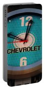 Chevy Neon Clock Portable Battery Charger