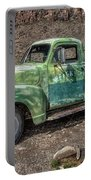 Chevy Truck Route 66 Portable Battery Charger