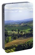 Chianti Region In Italy Portable Battery Charger