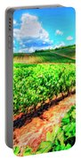 Chianti Vineyard In Tuscany Portable Battery Charger