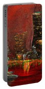 Chicago Acid Trip Portable Battery Charger