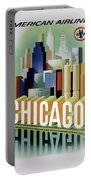 Chicago American Airlines 1950 Portable Battery Charger