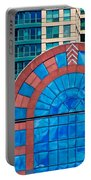 Chicago Place On N. Michigan Ave Portable Battery Charger