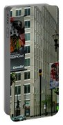 Chicago Blackhawk Flags Portable Battery Charger