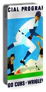 Chicago Cubs 1970 Program Portable Battery Charger